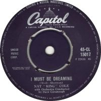 "Cover Nat ""King"" Cole - I Must Be Dreaming"