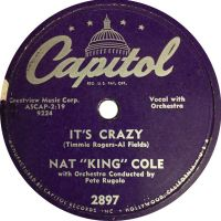 "Cover Nat ""King"" Cole - It's Crazy"
