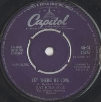 "Cover Nat ""King"" Cole - Let There Be Love"