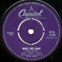"""Cover Nat """"King"""" Cole - Make Her Mine"""
