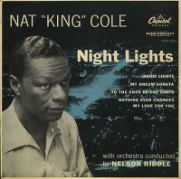 """Cover Nat """"King"""" Cole - Night Lights"""