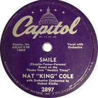 "Cover Nat ""King"" Cole - Smile"