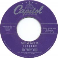 """Cover Nat """"King"""" Cole - Take Me Back To Toyland"""