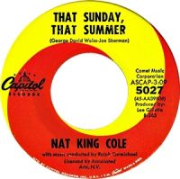 "Cover Nat ""King"" Cole - That Sunday, That Summer"