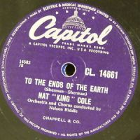 "Cover Nat ""King"" Cole - To The Ends Of The Earth"