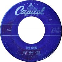 "Cover Nat ""King"" Cole - Too Young"