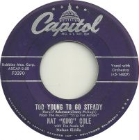 """Cover Nat """"King"""" Cole - Too Young To Go Steady"""