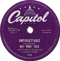 "Cover Nat ""King"" Cole - Unforgettable"