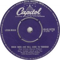 """Cover Nat """"King"""" Cole - When Rock 'n Roll Came To Trinidad"""