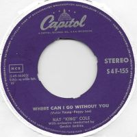 """Cover Nat """"King"""" Cole - Where Can I Go Without You?"""