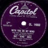 "Cover Nat ""King"" Cole - With You On My Mind"