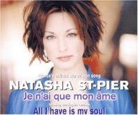 Cover Natasha St-Pier - Je n'ai que mon âme