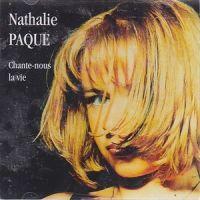 Cover Nathalie Pâque - Chante-nous la vie