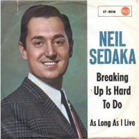 Cover Neil Sedaka - Breaking Up Is Hard To Do