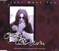 Cover Ozzy Osbourne - I Just Want You