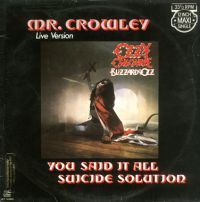 Cover Ozzy Osbourne - Mr. Crowley
