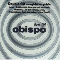 Cover Pascal Obispo - Live 98
