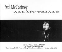 Cover Paul McCartney - All My Trials