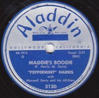 Cover Peppermint Harris With Maxwell Davis And His All-Stars - Maggie's Boogie