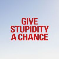Cover Pet Shop Boys - Give Stupidity A Chance