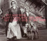 Cover Pet Shop Boys - I Don't Know What You Want But I Can't Give It Any More