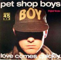 Cover Pet Shop Boys - Love Comes Quickly