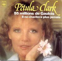 Cover Petula Clark - 55 millions de Gaulois