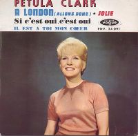 Cover Petula Clark - À London (allons donc)