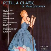 Cover Petula Clark - A Musicorama