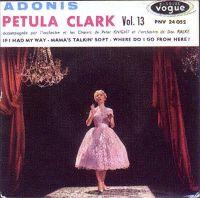 Cover Petula Clark - Adonis