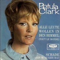 Cover Petula Clark - Alle Leute wollen in den Himmel
