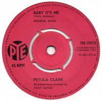 Cover Petula Clark - Baby, It's Me