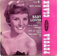 Cover Petula Clark - Baby Lover