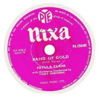 Cover Petula Clark - Band Of Gold