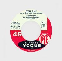 Cover Petula Clark - Calendar Girl