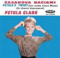 Cover Petula Clark - Casanova Baciami