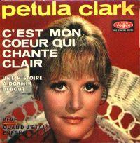 Cover Petula Clark - C'est mon cœur qui chante clair