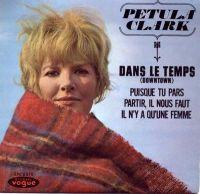 Cover Petula Clark - Dans le temps