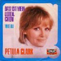 Cover Petula Clark - Das ist mein Leben Cherie