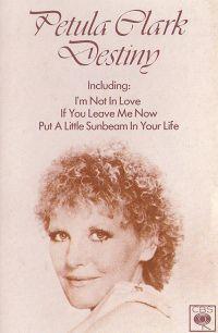 Cover Petula Clark - Destiny
