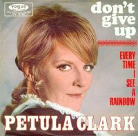 Cover Petula Clark - Don't Give Up