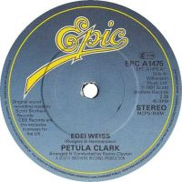 Cover Petula Clark - Edelweiss