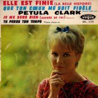 Cover Petula Clark - Elle est finie (la belle histoire)