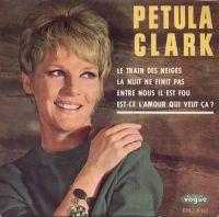 Cover Petula Clark - Entre nous il est fou