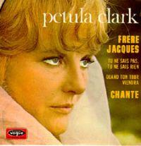 Cover Petula Clark - Frère Jacques