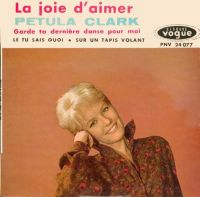 Cover Petula Clark - Garde la dernière danse pour moi
