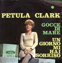 Cover Petula Clark - Gocce di mare