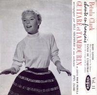 Cover Petula Clark - Guitare et tambourin