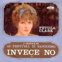 Cover Petula Clark - Invece no