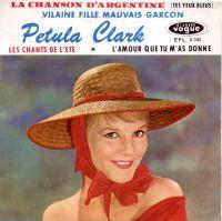 Cover Petula Clark - La chanson d'Argentine